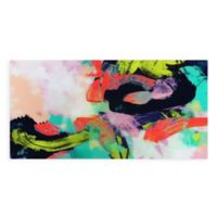 Colorful 72-Inch x 36-Inch Glass Wall Art