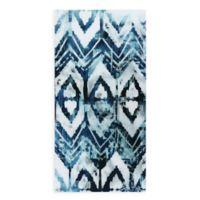 Patterns 36-Inch x 72-Inch Glass Wall Art in Blue