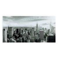 My New York 72-Inch x 36-Inch Glass Wall Art
