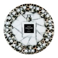 Haute Couture 20-Inch Round Glass Wall Art