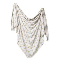 Copper Pearl Knit Swaddle in Chip