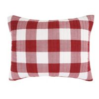 Bee & Willow™ Home Sawyer King Pillow Sham in Red