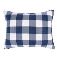 Bee & Willow™ Home Sawyer King Pillow Sham in Navy