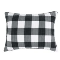 Bee & Willow™ Home Sawyer Standard Pillow Sham in Black