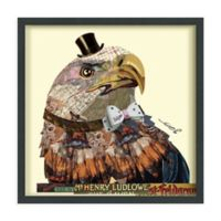 American Eagle 25-Inch Square Framed Wall Art