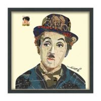 Charlie 25-Inch Square Framed Wall Art