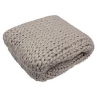 French Connection® Harper Throw Blanket in Linen