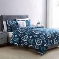 VCNY Home Blakely 5-Piece King Comforter Set in Navy
