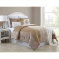 VCNY Home Anika Queen Comforter Set in Gold