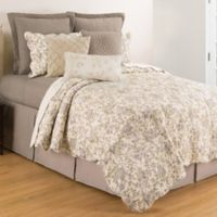 C&F Home™ Grace Reversible King Quilt Set in Lavender