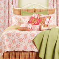 C&F Home™ Chesapeake Sorbet Reversible King Quilt Set in Pink