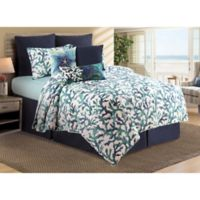 C&F Home™ Aqua Reef Reversible Quilt Set in Blue