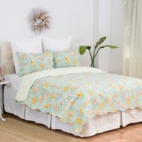 C&F Home™ St. Martin Reversible Twin Quilt Set in Blue