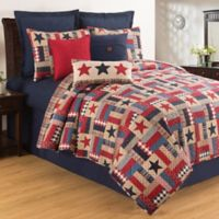 C & F Home Bennington 2-Piece Reversible Twin Quilt Set in Blue