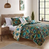 VCNY Home Key West Reversible King Quilt Set