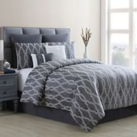 VCNY Home Brandy California King Comforter Set in Grey