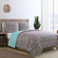 VCNY Home Chora Reversible Twin Quilt Set