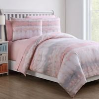 VCNY Home Crush Full Comforter Set in Blush/Grey