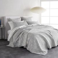 DKNY Sunwashed Reversible Queen Quilt in Grey
