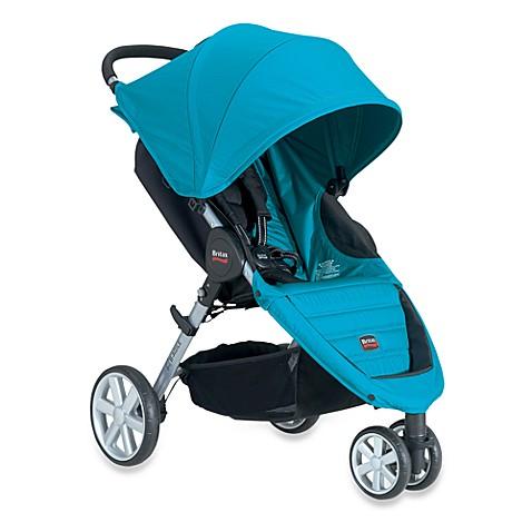 britax b agile stroller in peacock buybuy baby. Black Bedroom Furniture Sets. Home Design Ideas