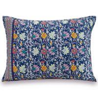 Vera Bradley® Bramble Standard Pillow Sham in Blue