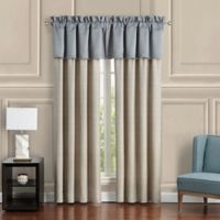 Waterford® Baylen Tailored Window Valance in Dusty Blue