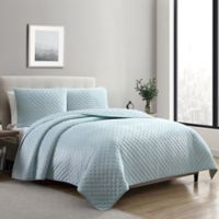 VCNY Home Dreamy Lux 3-Piece King Quilt Set in Seafoam