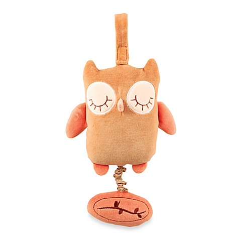 miYim® Musical Pull Plush Toy in Brown Owl