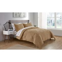 VCNY Home Chateau Queen Comforter Set in Brown