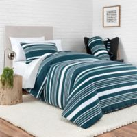 Laundry by SHELLI SEGAL® Huntington Reversible Full/Queen Comforter Set in Blue