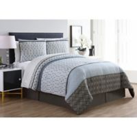 VCNY Home Adam King Comforter Set in Blue