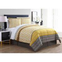 VCNY Home Adam Queen Comforter Set in Yellow