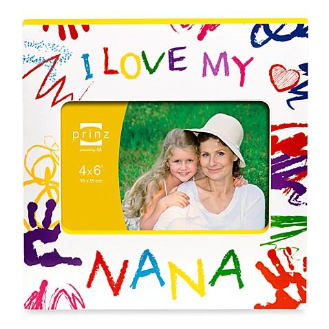 Prinz Made with Love I Love My Nana Wood Photo Frame - buybuy BABY