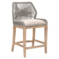 Essentials For Living Loom 26-Inch Counter Stool in Grey