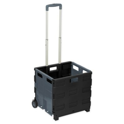 f143aebfa432 Folding Crate Cart in Grey