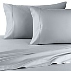 Wamsutta® 400-Thread-Count Sateen Queen XL Sheet Set in Sky