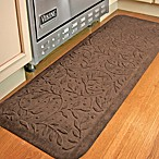 Comfort Pro Wisteria 2-Foot x 5-Foot Kitchen Mat - Chocolate