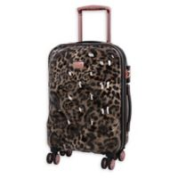 it Girl Opulent 21-Inch Hardside Spinner Carry On Luggage in Leopard