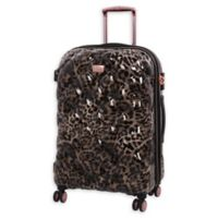it Girl Opulent 26-Inch Hardside Spinner Checked Luggage in Leopard