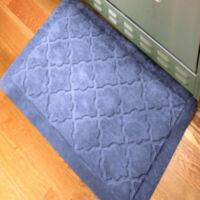 Comfort Pro Onyx 2-Foot x 3-Foot Kitchen Mat - Navy