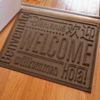 Weather Guard™ 23-Inch x 35-Inch Welcome Door Mat in Dark Brown