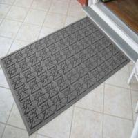 Weather Guard™ Star 35-Inch x 57-Inch Foot Door Mat in Gray