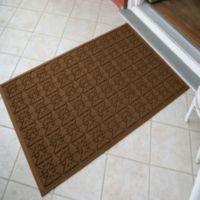 Weather Guard™ Star 35-Inch x 57-Inch Door Mat in Brown