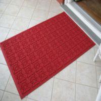 Weather Guard™ Star 35-Inch x 57-Inch Door Mat in Red