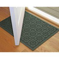 Weather Guard™ Star 23-Inch x 35-Inch Door Mat in Evergreen