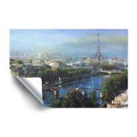 Art Wall Paris Pedestrian Bridge 24-Inch x 36-Inch Removable Wall Art