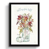 ArtWall Festive Foliage II 14-Inch x 18-Inch Floater Framed Wall Art