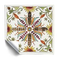 ArtWall Festive Foliage VIII 18-Inch Square Vinyl Wall Decal