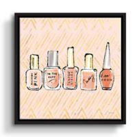 ArtWall Beauty & Sass 36-Inch x 36-Inch Floater-framed Canvas Wall Art