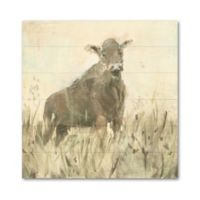 Art Wall The Grazer 10-Inch Square Wood Wall Art